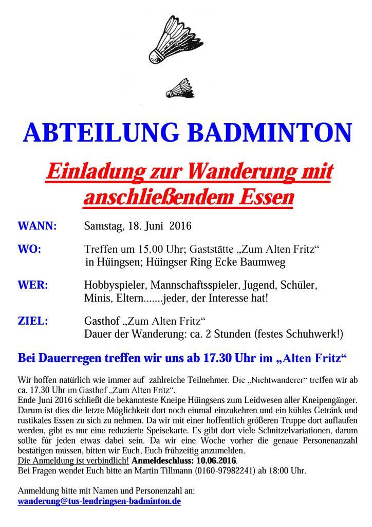 Badminton-Wanderung_2016